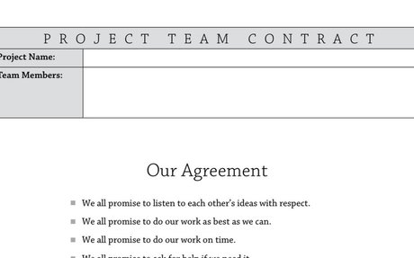 K5 Team Agreement (Contract)