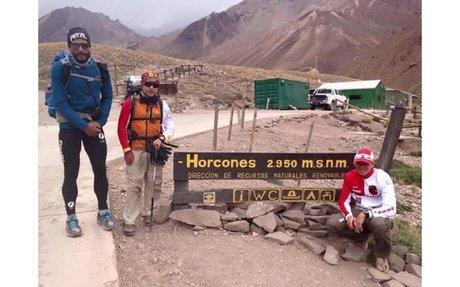 En menos de 12 horas, escaló el Aconcagua
