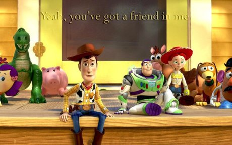Toy Story III: always there for each other
