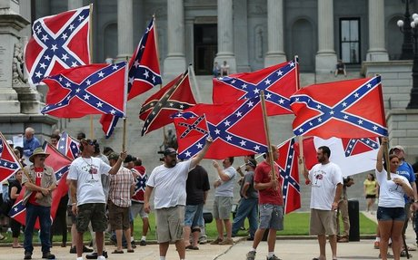 Analysis | The Confederate flag largely disappeared after the Civil War. The fight against