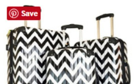Chevron Luggage Sets, Rolling Luggage, Carry On Luggage