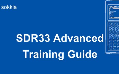 SDR33 Advanced Training Guide for Roading