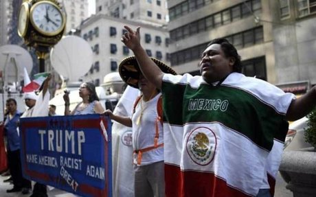 Mexico demands respect from Trump with huge marches