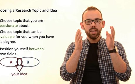 Choosing A Research Topic and Idea
