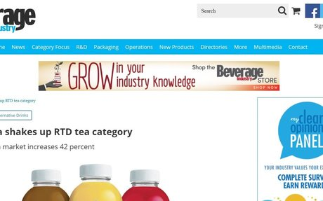 Kombucha shakes up RTD tea category