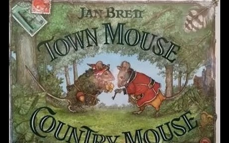 Town Mouse, Country Mouse by Jan Brett (Author and Illustrator)