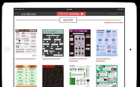 Zanifesto: Infographics creator