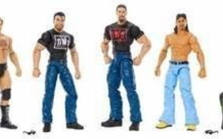 WWE Hall of Fame Elite Collection NWO Figure 4pk