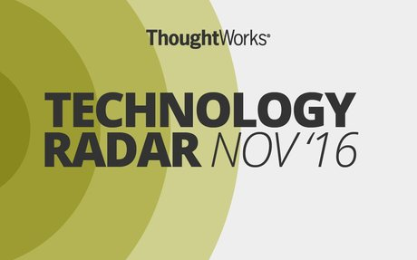 Emerging Technology Trends . ThoughtWorks