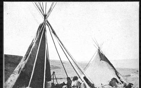 Homes: Photograph of Crow Camp