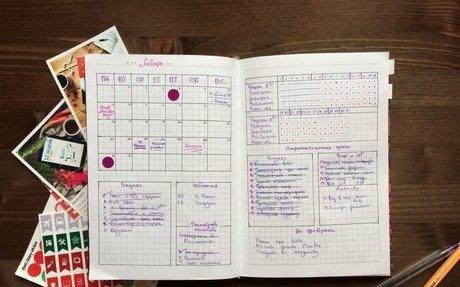 Система ведения ежедневника Bullet Journal: мойопыт использования