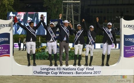 Showjumping: UAE takes Longines Challenge Cup in Barcelona