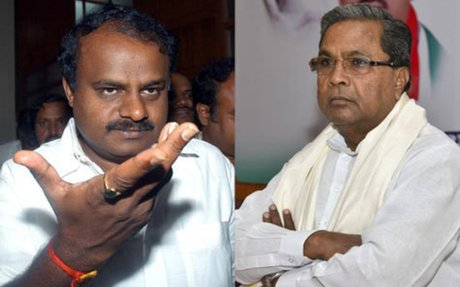 A Congress-JD(S) alliance to foil BJP's bid for power in Karnataka? - Times of India