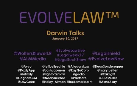 Dozen  Darwin Talks: Future of Law