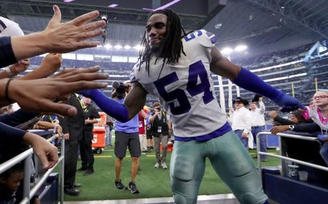 Jaylon Smith is an investor in the therapy that helped his knee heal