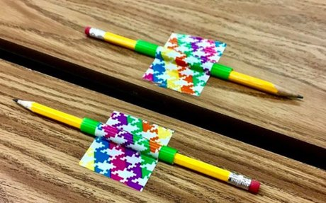 A creative way to use duct tape in your classroom