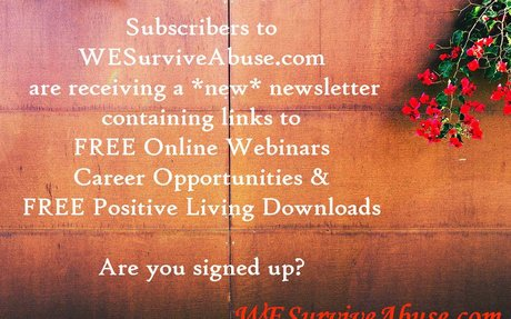 Change Begins with WE! Keeping the WE in WE Survive Abuse | WE Survive Abuse