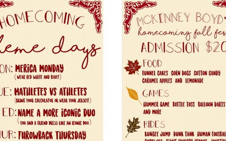 Homecoming Week Next Week!