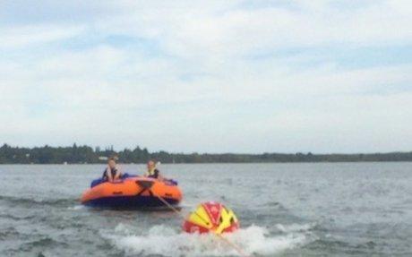 You gotta love water sports