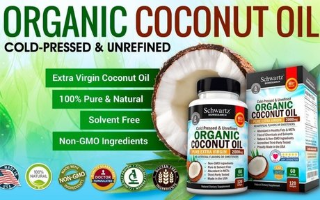 Amazon.com: Organic Coconut Oil 2000mg. Highest Grade Extra Virgin Coconut Oil for Skin, H