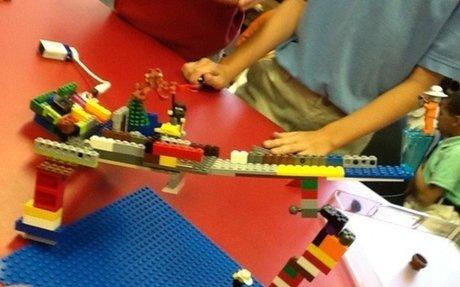 Build A LEGO & Little Bits Marble Run