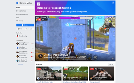 Facebook Gaming grows 210% in 2019 as it battles Twitch, YouTube