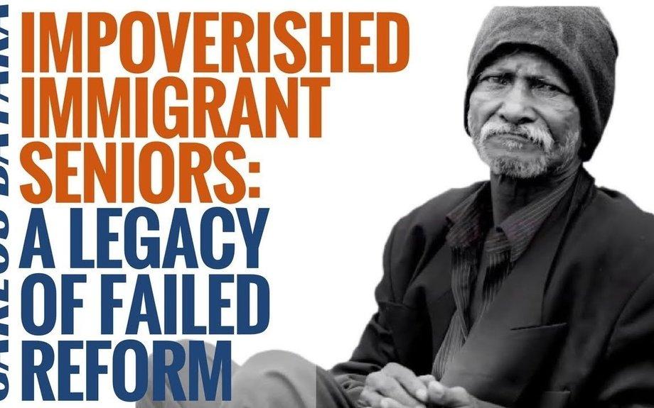 Impoverished Immigrant Seniors: A Legacy Of Failed Reform