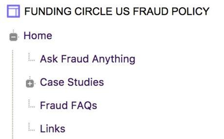 Fraud Policy Wiki