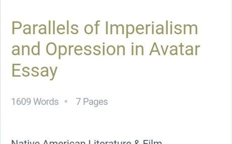 Different Essays Regarding Imperialism   Bartleby