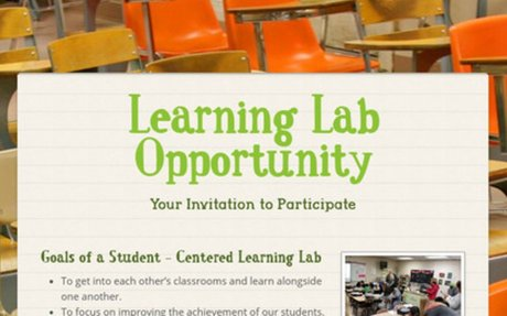 Learning Labs: Creating a Personalized PD Opportunity