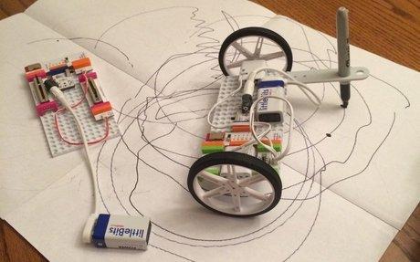 Make a Little Bits Art Bot