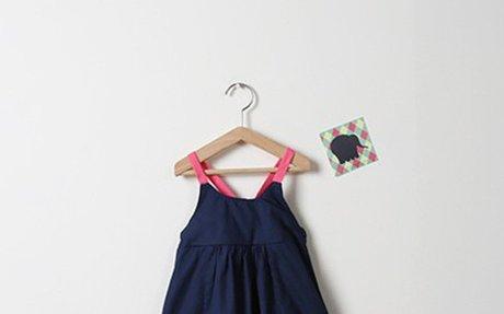 儿童夏装韩版宝宝吊带裙纯棉连衣裙女童沙滩裙新款海边度假公主裙