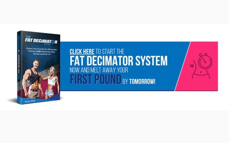 With The Fat Decimator System you are guaranteed to lose weight or get your money back!