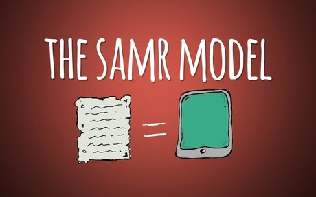 What is the SAMR Model and what does it look like in schools?