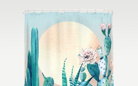 Desert Dawn Shower Curtain