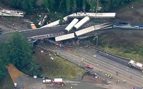 'Multiple fatalities' after Amtrak train derails near Tacoma