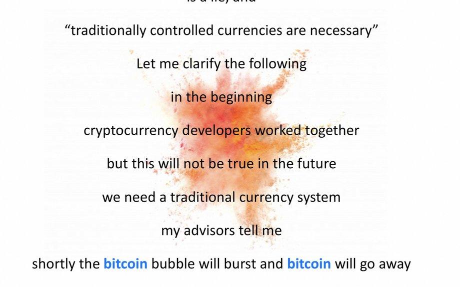 Parody: We don't need bitcoin...