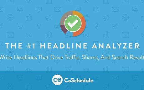 CoSchedule Headline Analyzer | Best headline analyzer tool