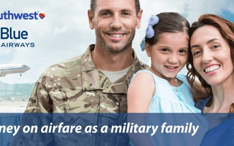 Well Deserved Airline Discounts For Military Families