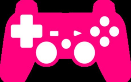 I love games and color pink