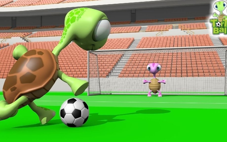Penalty Shootout Soccer Funny Turtles For Children and Kids | TorTo Ball Official
