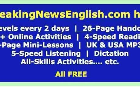 Breaking News English - Easier News Lessons