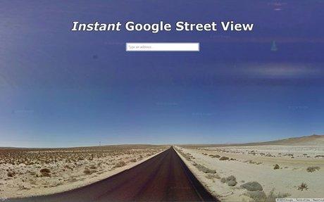 Instant Google Street View_Utcakép
