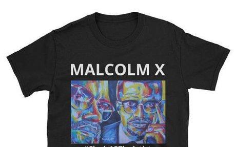 Malcolm X Short-Sleeve Unisex T-Shirt, T-shirt For Men And Women, MX Fans, Malcolm X Fans