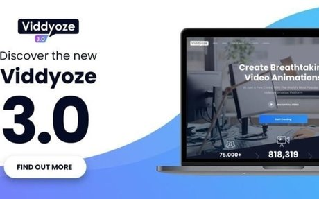 Viddyoze is a web based in-video animation software Using Viddyoze Has Opened Doors For My