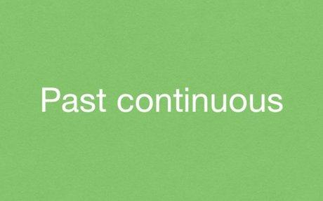 Past Progressive (Past Continuous), short explanation and exercises