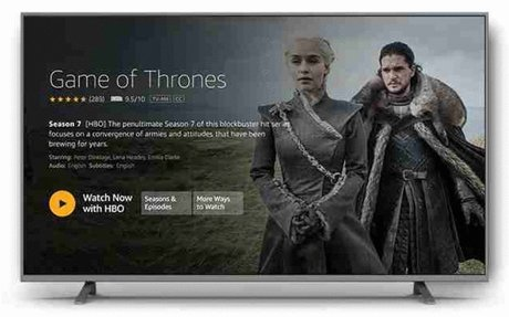 Amazon Fire TV with 4K Ultra HD with Alexa Voice Remote - Streaming Media Player