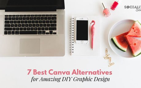 7 Best Canva Alternatives for Amazing DIY Graphic Design - Socially Sorted