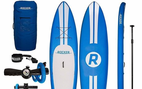Go paddling with the iRocker high quality Inflatable paddle boards