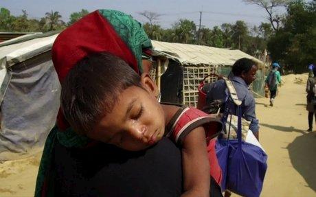 Rohingya crisis: Seeking safety on higher ground